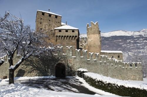 Fénis - Dopo la nevicata