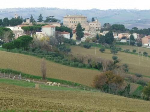 Monterado - Panorama della campagna circostante