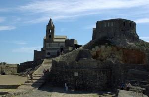 Castrum Vetus e S.Pietro dalla terraferma