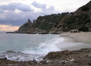 Capo Vaticano (VV), Spiaggia Grotticelle 4