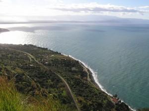Joppolo (VV), la costa e il Golfo di Gioia Tauro