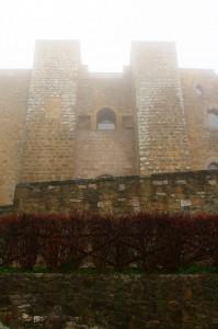 il Castello di Lagopesole perso nella nebbia