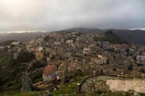 Tolfa: Panorama dalla Rocca