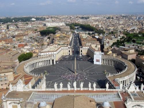 Roma - Il panorama dal Cupolone