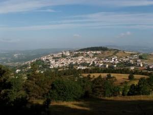 Cercemaggiore - Panorama dal Monte Saraceno