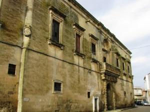 Castrì, il palazzo baronale