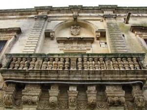 portale del ducale -Castrì di Lecce