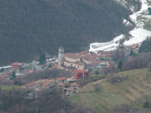 Palazzago - Palazzago dall'Albenza