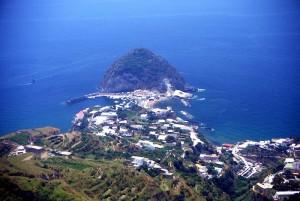 Ischia, Panorama dal monte di S.Angelo