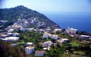 Ischia,   Barano, Testaccio panorama