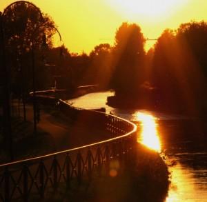 tramonto a cernusco sul naviglio