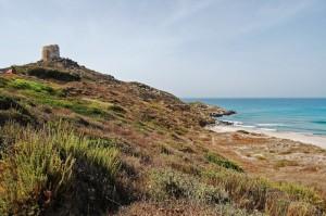 la spiaggia di Tharros
