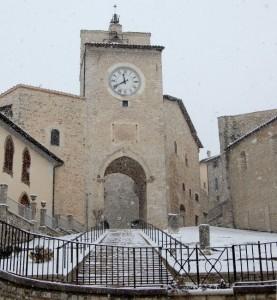 Neve sul castello