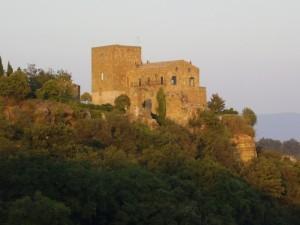 TRAMONTO SUL CASTELLO DI SEPPIE