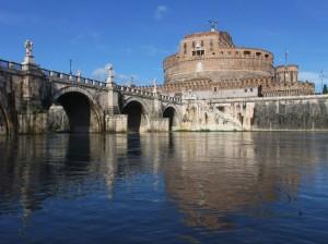 C'è un fiume che passa nel cuore di Roma.