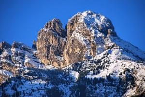 gruppo del Monte Pizzocco m. 2.186