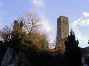 L'antica torre Ferranda a Pont Canavese