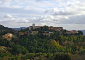 Panorama di Monterotondo Marittimo