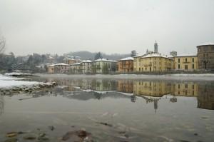 Neve su Brivio