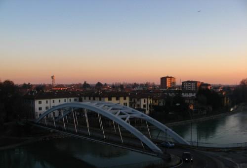 Canonica d'Adda - Panorama al tramonto