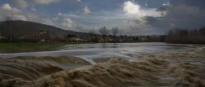 Schiarita sul paese di Bagno a Ripoli