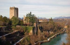 Torre castello Trezzo sull'Adda
