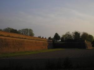 le mura fortificate di sabbioneta