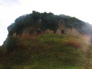 Fortezza di Mont'Alfonso in controluce