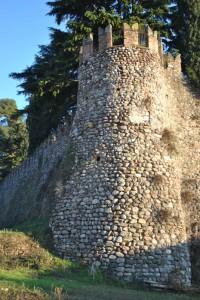 torrione del castello di bornato