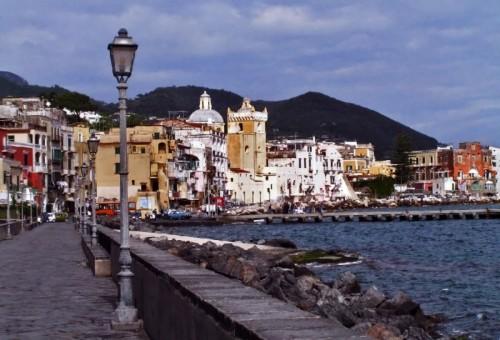 Ischia - Veduta dal Ponte Aragonese