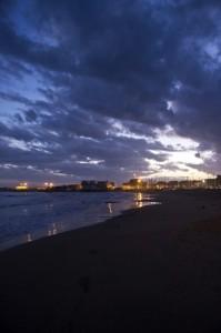 La notte sul mare