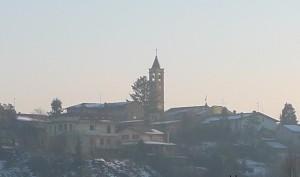 Ultima neve di Natale sui tetti