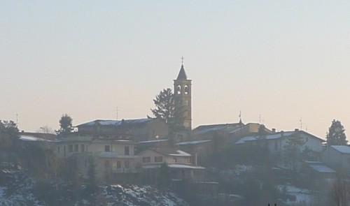 Bosnasco - Ultima neve di Natale sui tetti