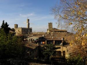 Il Borgo di Volterra visto dal Parco