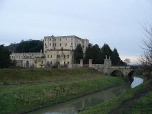 Crepuscolo al Castello del Catajo
