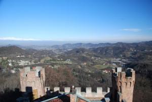 le frazioni di Cinzano controllate dal suo Castello