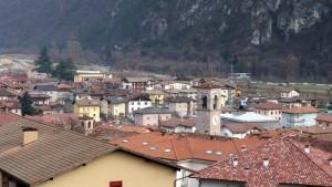 Sui tetti di Condino….
