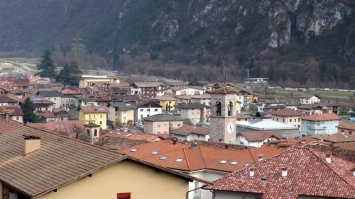 Condino - Sui tetti di Condino....