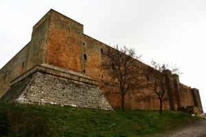 l'imponenza del castello