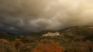 Nuvole minacciose su Roccantica