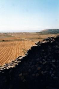 Dalla torre del Nuraghe Arrubiu