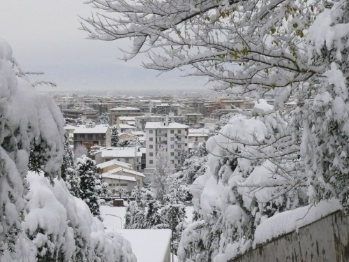 Scandicci - Scandicci sotto la neve (2)