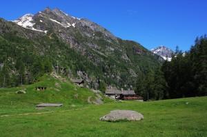 L'Alpe Pile ed il rifugio Pastore