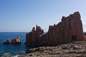 Le rocce rosse di Albatrax