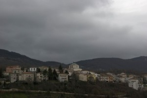 Sessano del Molise. Panorama