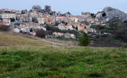 Pietrabbondante - Pietrabbondante. Il panorama