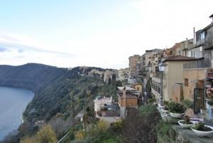 Castel Gandolfo ed il suo lago