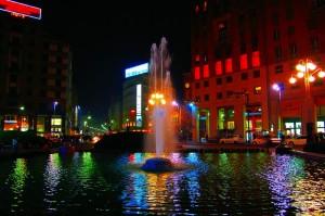 Fontana in piazza S. Babila