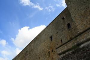 particolare del castello di Lagopesole