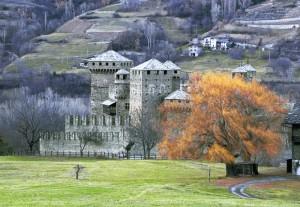 Inverno a Castel Fenis